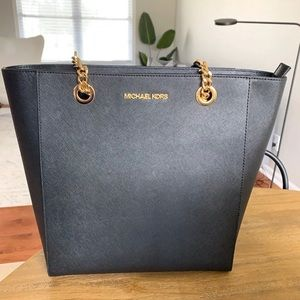Michael Kors Logo purse Large tote Black